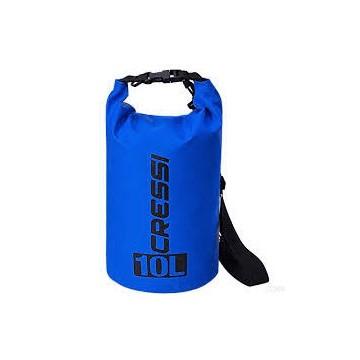 CRESSI DRY BAG 10 LITRI BLUE