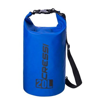 CRESSI DRY BAG 20 LITRI BLUE