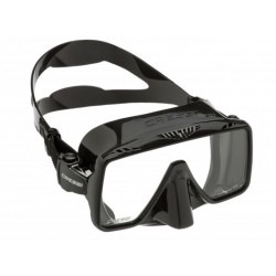 CRESSI SF 1 BLACK - SQUARED FRAMELESS DIVE MASK