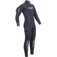 CRESSI MUTA SEMISTAGNA ATLANTIS MAN 7 MM. LIQUID SEAL TECHNOLOGY