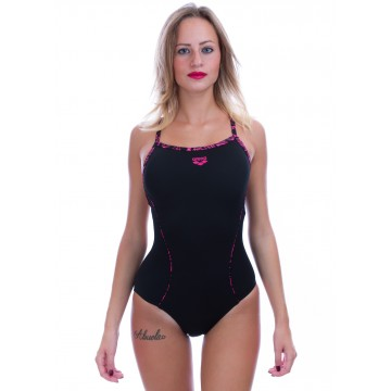 Arena Fisk Piping One Piece Costume Intero Donna Piscina